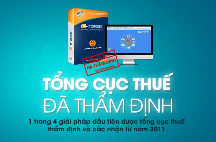 Phần mềm hóa đơn điện tử