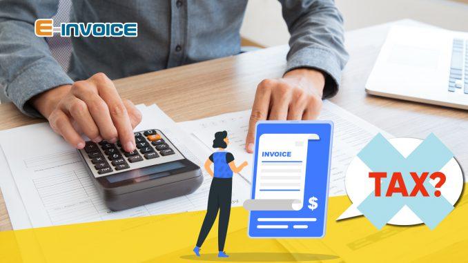 Khấu trừ thuế với hóa đơn bán hàng trực tiếp