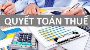 Quyết toán thuế như thế nào