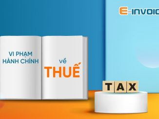 Xử phạt vi phạm hành chính về thuế