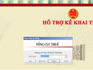 Hướng dẫn sử dụng phần mềm HTKK để kê khai thuế