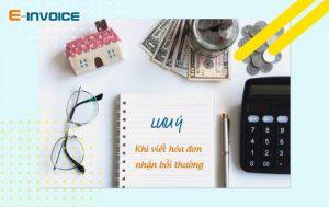 Các khoản bồi thường cần xuất hóa đơn