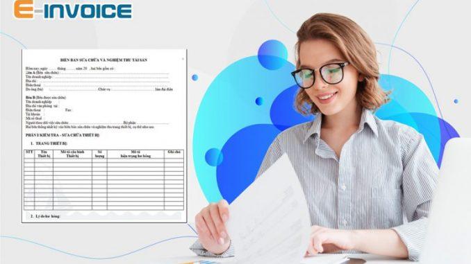 Hóa đơn với các khoản bồi thường