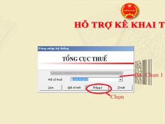 Phần mềm HTKK dùng để kê khai quyết toán thuế TNCN